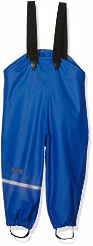 CareTec Kinder Regenlatzhose, wind- und wasserdicht (verschiedene Farben), Blau (Ocean blue 706), 80