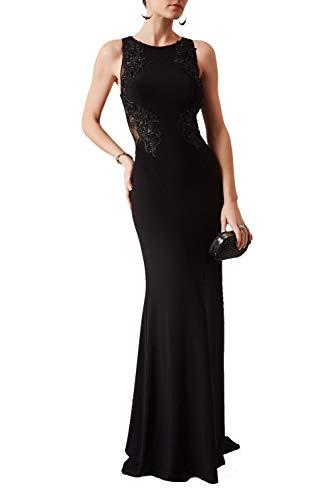 Mascara Black Mc1612037g Spitze Appliziert Schier Hinteres Kleid 38