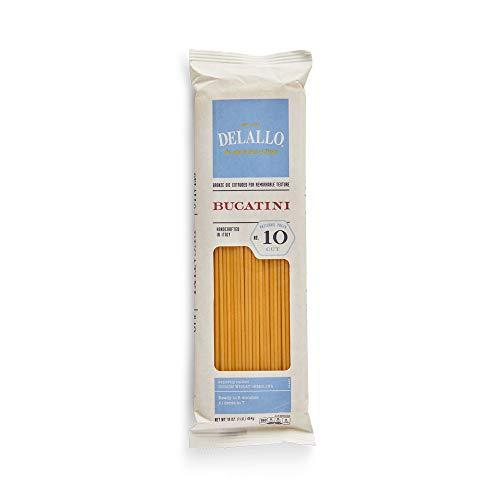 DeLallo Bucatini pasta 1 lb - 16 per case