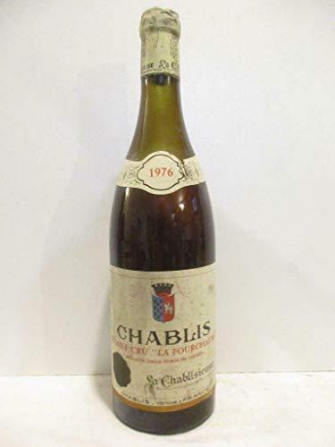 chablis la chablisienne premier cru fourchaume (niveau bas) blanc 1976 - bourgogne