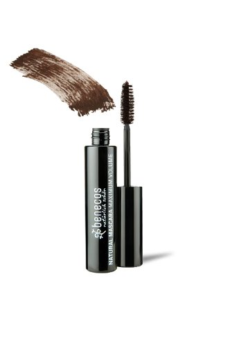 Benecos Natural Mascara Maximum Volume - wimperverf - glad bruin