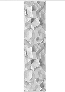 effetto bamb/ù uno destra 260/x 60/cm Grigio Home Living idee tenda a pannello con stampa digitale