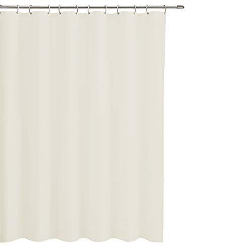 Good Sun Professional PEVA Mildew Resistant Shower Curtain Shower Liner, with Magnets & 12 Eyelets (Cream)
