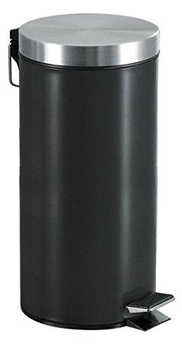 FRANDIS-Poubelle 30L métal noir