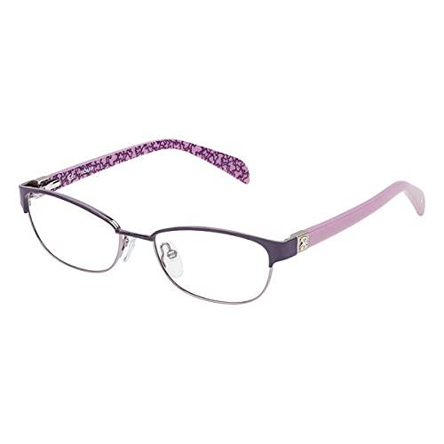 TOUS S0350800 Marcos para Gafas recetadas, Violeta, 50 mm Unisex niños