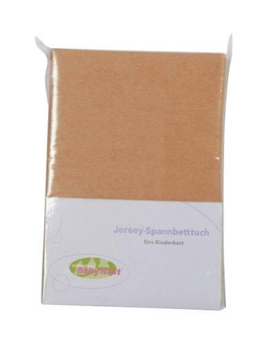 Odenwälder 26000-960 Spannbetttuch Jersey 70x140cm sand