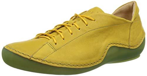 Think! Damen KAPSL_3-000045 nachhaltige, Wechselfußbett Sneaker, 6000 Safran/Kombi, 39.5 EU