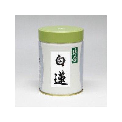 丸久小山園 菓子・スイーツ用 製菓用抹茶 白蓮(びゃくれん)200g缶入