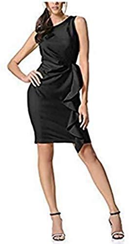 Patrizia Dini Kleid Etuikleid Schwarz Gr. 40