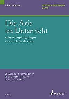 ARIAS FOR ASPIRING SINGERS: 28 Arien aus 4 Jahrhunderten. Mezzo-Sopran/Alt und Klavier.