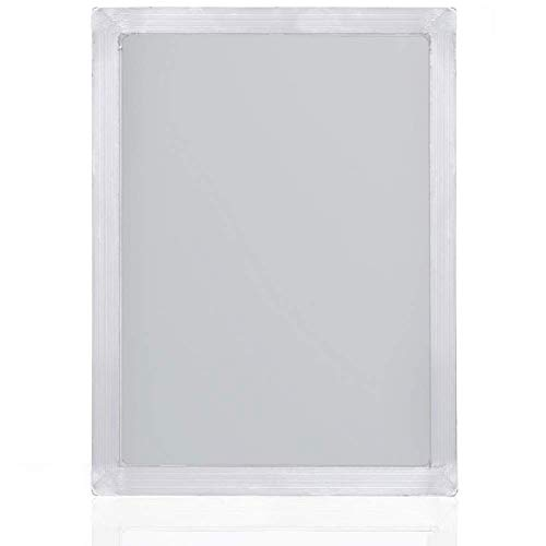 Siebdruckrahmen aus Aluminium mit 43T/110 weißem Maschen für Siebdruck, 20 x 25 cm