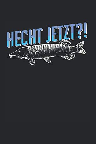 Hecht Jetzt: Hecht & Angler Notizbuch 6\'x9\' Angelhaken Geschenk Für Esocidae & Angeln