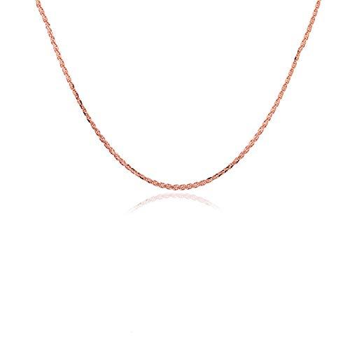 Blisfille Collar Oro 18K Colgante Mujer Joyeria Collares de Oro Blanco Collar Gato Egipcio Collares de Mujer Collar Oro Elegante