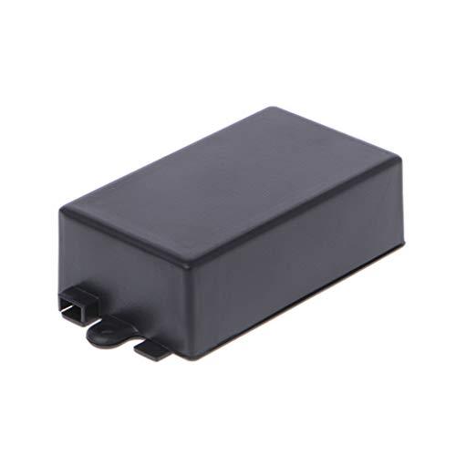 ruiruiNIE wasserdichtem Kunststoff elektronisches Gehäuse Projektbox schwarz 65x38x22mm Stecker