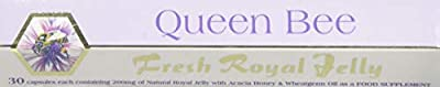 Queen Bee Fresh Royal Jelly Capsules - 30 Capsules