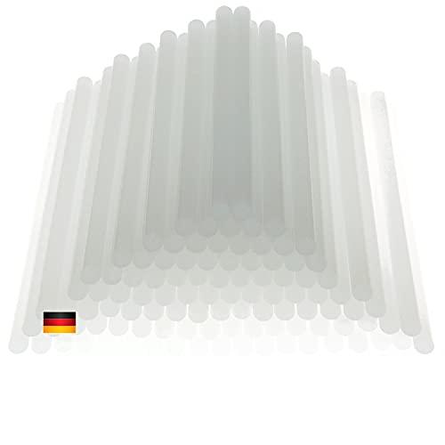 Klebesticks Heißklebestifte | 2kg Heißklebesticks 11mm x 200mm transparent | Premium Heißkleber Made in Germany | Heißklebepatronen für Heißklebepistole für Metall Glas Kunststoff Keramik etc