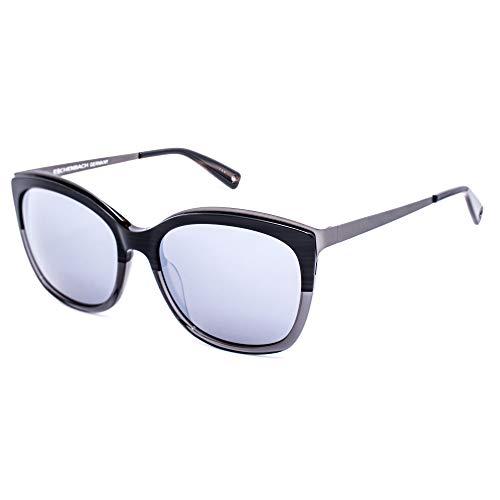 BRENDEL 906115-30-2330 Gafas, negro-gris/gris espejo, 55/15/140 para Mujer