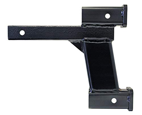 Roadmaster 077-10 Dual Hitch Receiver with 2 Inch and 10 Inch Offsets