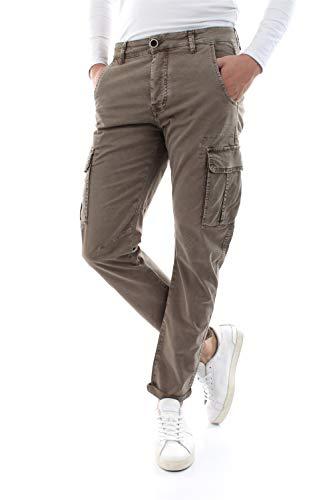 Bomboogie PMGUM T GBT Pantaloni Uomo Sage 33