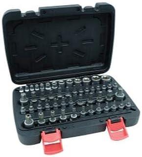 Trkee 8 Pcs 1//2 Inch Drive Torx Star Bits Socket Set T20 T30 T40 T50 T60 T70 T80 T90
