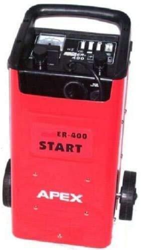 D+L Chargeur de batterie 400 - 12 V - 24 V - Pour voiture, moto, bateau, camion - Fonction de démarrage - Booster AWZ