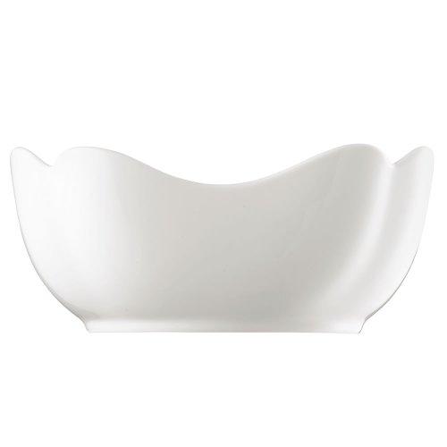Hutschenreuther 02013-800001-13174 Saladier Rectangulaire 24 cm, Porcelaine, Blanc