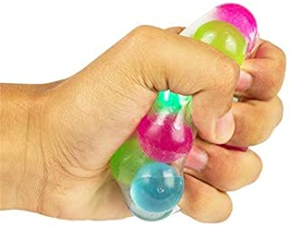 Play Visions Multi-Color Light Up Stress Ball - Use For Anxiety Relief, Tactile Therapy Or As A Fun Handheld Toy