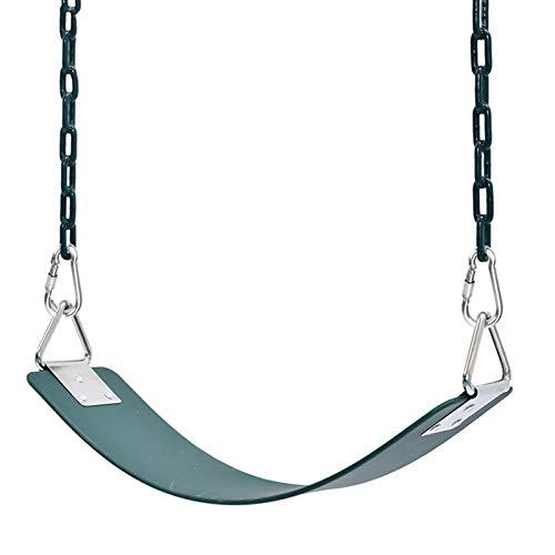 Columpio Conjunto de Swing de Tablero Suave portátil, Silla Colgante cómoda para jardín al Aire Libre y instalación Interiores, rápida (Color : Style1, Size : 1.8m Chain)