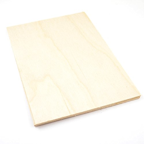 Laserply Birch Multiplex A4 Vel 50 Pack voor lasersnijden, Scroll zaag, frettwork, pyografie, Crafting etc