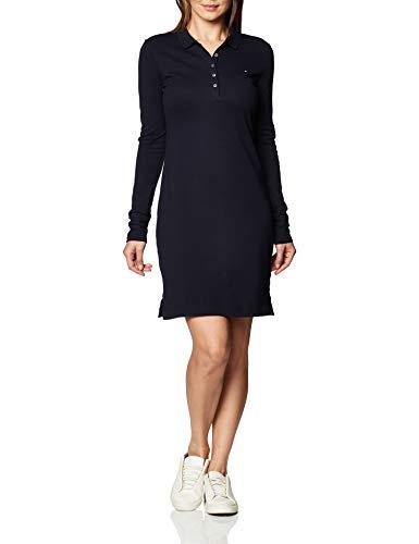 Tommy Hilfiger Damska sukienka polo z długim rękawem