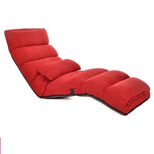 Y nocar luie bank, woonkamer opklapbare vloerstoel, verstelbare relaxatie video game stoel bank ligstoel