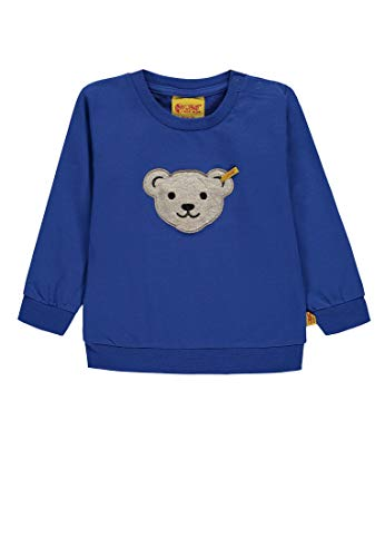 Steiff Steiff Baby-Jungen 1/1 Arm Sweatshirt, Blau (Nautical Blue Blue 3009), 68
