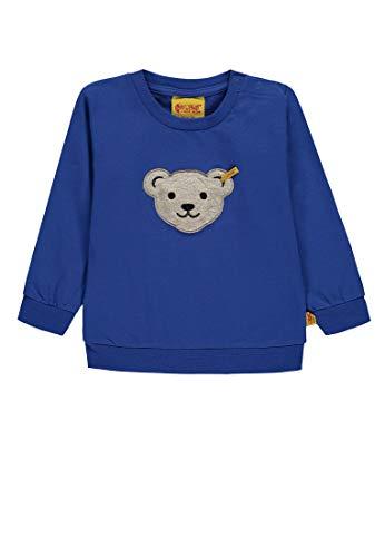 Steiff Steiff Baby-Jungen 1/1 Arm Sweatshirt, Blau (Nautical Blue|Blue 3009), 68