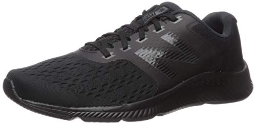 New Balance Men's Draft V1 Running Shoe, Black/Magnet, 15 D US