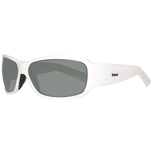 Timberland Sonnenbrille TB9024 6621D Gafas de Sol, Blanco (Weiß), 66 para Hombre