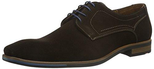 LLOYD DEA, Zapatos de Cordones Derby Hombre, Braun T D Moro Grigio 3-Cafetera monodosis, 44.5 EU