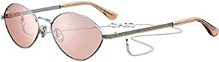 Jimmy Choo SONNY/S SILVER/PINK 58/16/145 women Sunglasses
