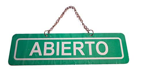 TONOSEVILLA Cartel METALICO Abierto para Negocios