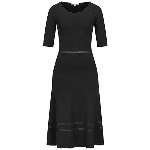 Patrizia Pepe Kleid mit Viskose-Anteil 34 schwarz