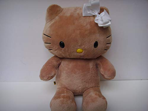 "BABW Hello Kitty Tropical Hawaii Sunkissed Tan 18"" Sanrio Plush Toy"