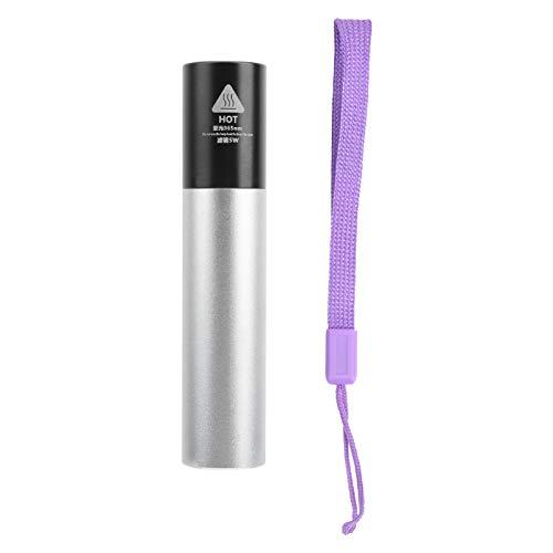 Tenpac Luce del rilevatore UV, Torcia LED Ultravioletta avanzata sicura, Durevole per la casa all'aperto