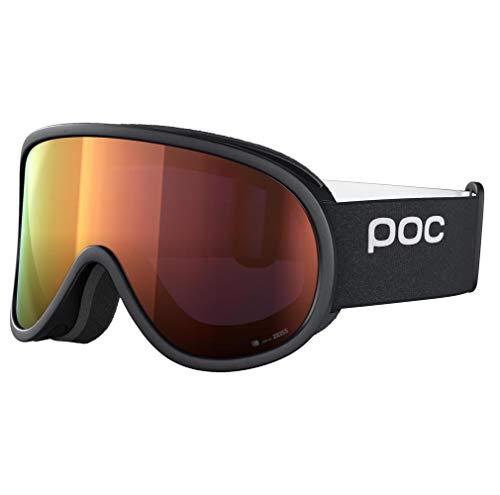 POC Retina Clarity, Uranium Black/Spektris Orange, ONE Size