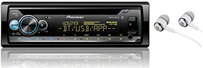 Pioneer DEH-S5100BT in-Dash Built-in Bluetooth CD, MP3, Front USB, Auxiliary, Pandora, AM/FM, Built in iPod, iPhone and iPad Controls, Dual Phone Connection Stereo Receiver