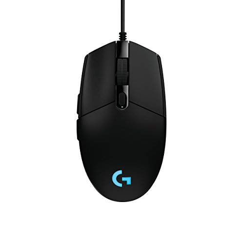 Logitech G203 Prodigy RGB Wired Gaming Mouse – Black (Renewed)