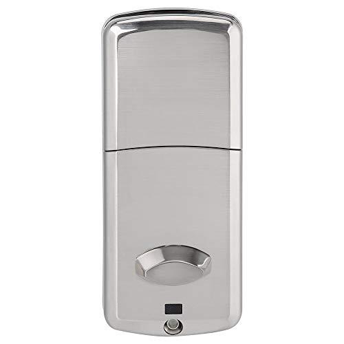 Bluetooth Türschloss Smart Digital elektronische Passwort Türschloss Set mit Schlüssel und Zubehör Karte Ode Smartphone Telefon App Control Eintrag Safe Lock
