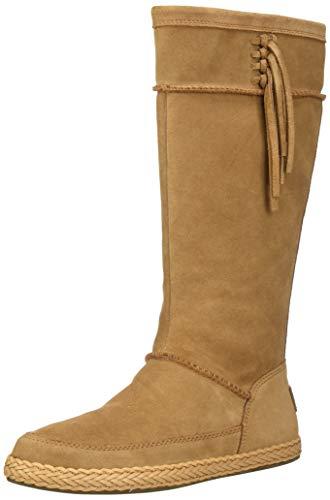 UGG Women's Emerie Fashion Boot, Chestnut, 7 M US
