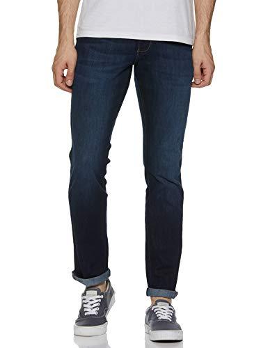 Wrangler Men's Slim Fit Jeans (W38476W22SMU_Jsw-Indigo_34W x 33L)