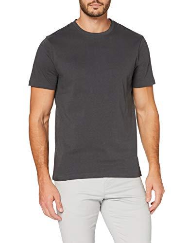 MERAKI AZJM-0009 Camisetas, Color Carbón, S