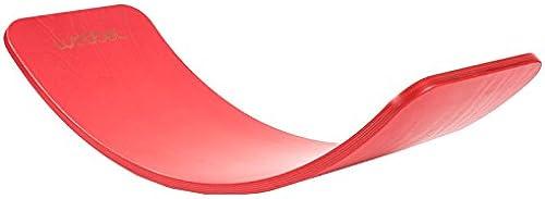 Wobbel Wobbelboard rot lackiert ohne Filz
