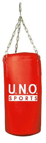U.N.O. Sports Boxsack MINI, ca. 60x30cm, rot